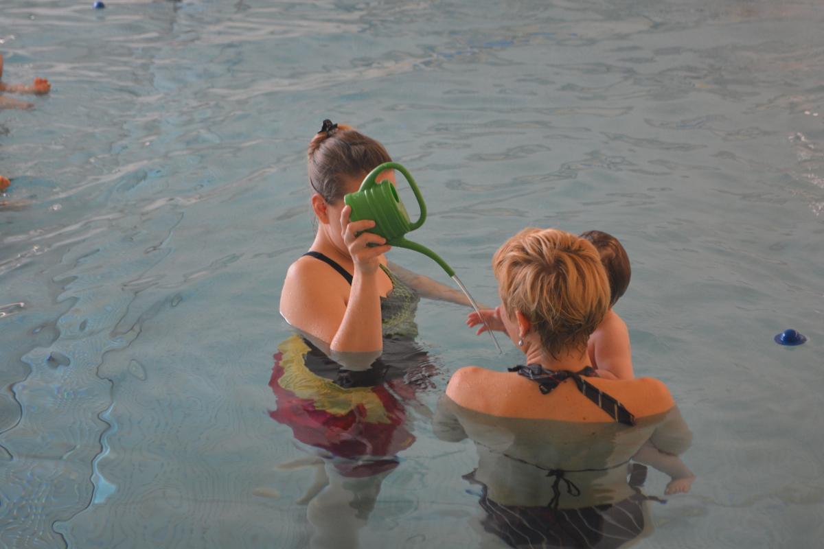 Babyschwimmkurs 1 Dlrg Dlrg Birkenfeld Ev